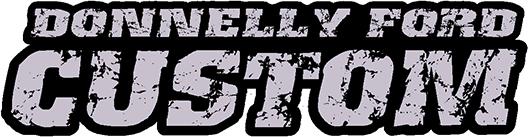 donnelly ford custom logo